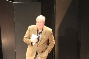 Bruce Miller, artistic director of Virginia Repertory Theatre welcomed the audience