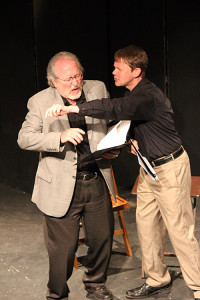 "Dean Knight and Larry Gard in ""Mr Blue"" by Mary Kay Williams"