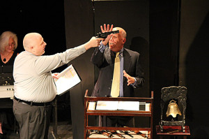 "Stephen Ryan and Tim Goad in ""Settling the Score"" by Roy Proctor"